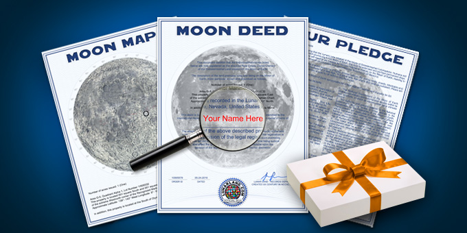 Premium Lunar Land Gift Package