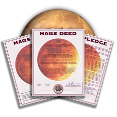 BuyMars.com - Planet Mars Land Packages